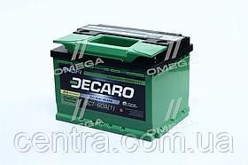 Аккумулятор 60Ah-12v DECARO PROFI (242x175x175),L,EN600 6СТ-60 (1)