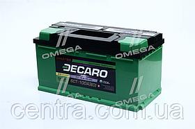 Аккумулятор 100Ah-12v DECARO MASTER (353х175х190), R,EN800 6СТ-100 (0)