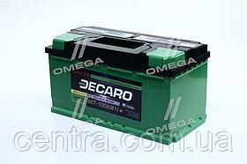 Аккумулятор 100Ah-12v DECARO MASTER (353х175х190), L,EN800 6СТ-100 (1)