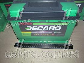 Аккумулятор 75Ah-12v DECARO MASTER (278х175х190),R,EN640 6СТ-75 (0)