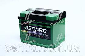 Аккумулятор 60Ah-12v DECARO MASTER (242x175x190),R,EN540 6СТ-60 (0)