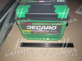 Аккумулятор 60Ah-12v DECARO MASTER (242x175x190),L,EN540 6СТ-60 (1)