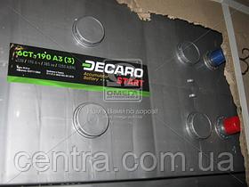 Аккумулятор 190Ah-12v DECARO START(513х223х217), L,EN1250 6СТ-190 АЗ (3)