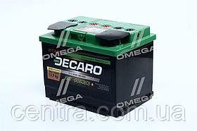 Аккумулятор 60Ah-12v DECARO START (242x175x190),R,EN480 6СТ-60 АЗЕ (0)
