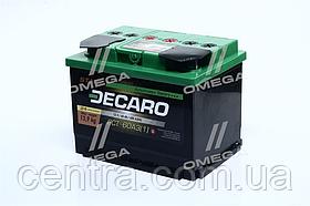Аккумулятор 60Ah-12v DECARO START (242x175x190),L,EN480 6СТ-60 АЗ (1)