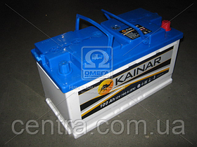 Аккумулятор 100Ah-12v KAINAR (353х175х190),R,EN780 100 211 0 120