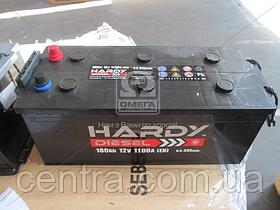 Аккумулятор 180Ah-12v HARDY DISEL (513x223x223),L,EN1100 6СТ- 180 Аз