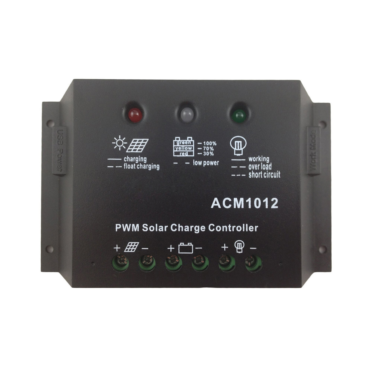 Контролер заряду Altek ACM1012 (+USB)