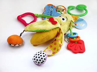 Biba Toys  Игрушка-подвеска Веселый Банан, фото 2
