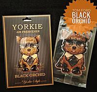 Ароматизатор в авто/гардероб парфюмированный Yorkie Style BLACK ORCHID Tom Ford