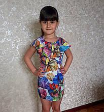 Детский сарафан платье на девочку с рюшами