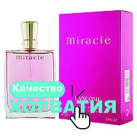 Ланком Миракль, Миракл  Хорватия Люкс копия АА++ нежный и романтичный аромат Lancome Miracle