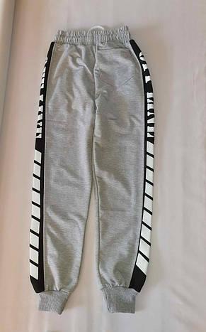 Спортивные штаны турецкие для мальчиков 116,128,140,146,152 роста OF-LINE, фото 2