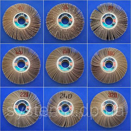 КШЛ 200х50х32, круг шлифовальный лепестковый радиальный, фото 2