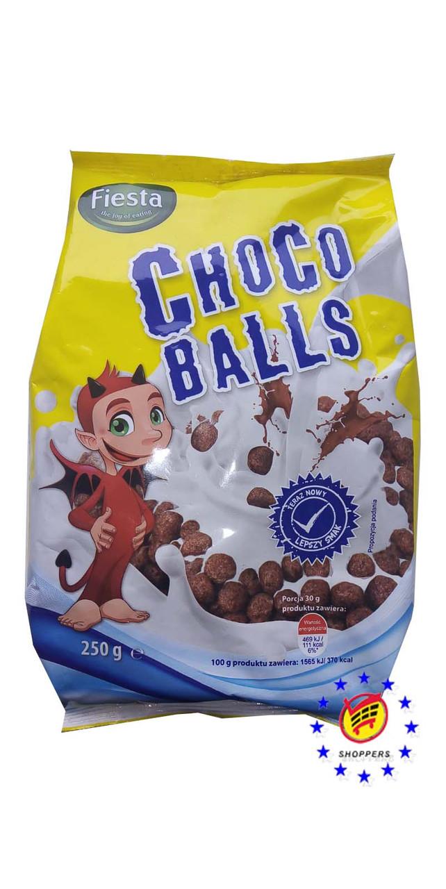 Шоколадные шарики Fiesta Choco Balls, 250 г