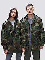 Полевая куртка Alpha Industries M-65 Field Coat MJM24000C1 (Woodland Camo), фото 1