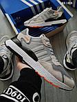 Чоловічі кросівки Adidas Nite Jogger (сірі) KS 1448, фото 4
