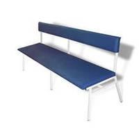Диван коридорный ДК, диван медицинская, Банкетка медицинская со спинкой