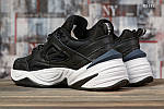 Чоловічі кросівки Nike M2K Tekno (чорно-білі) KS 1451, фото 6