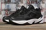 Чоловічі кросівки Nike M2K Tekno (чорно-білі) KS 1451, фото 8