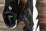 Чоловічі кросівки Nike M2K Tekno (чорно-білі) KS 1451, фото 9