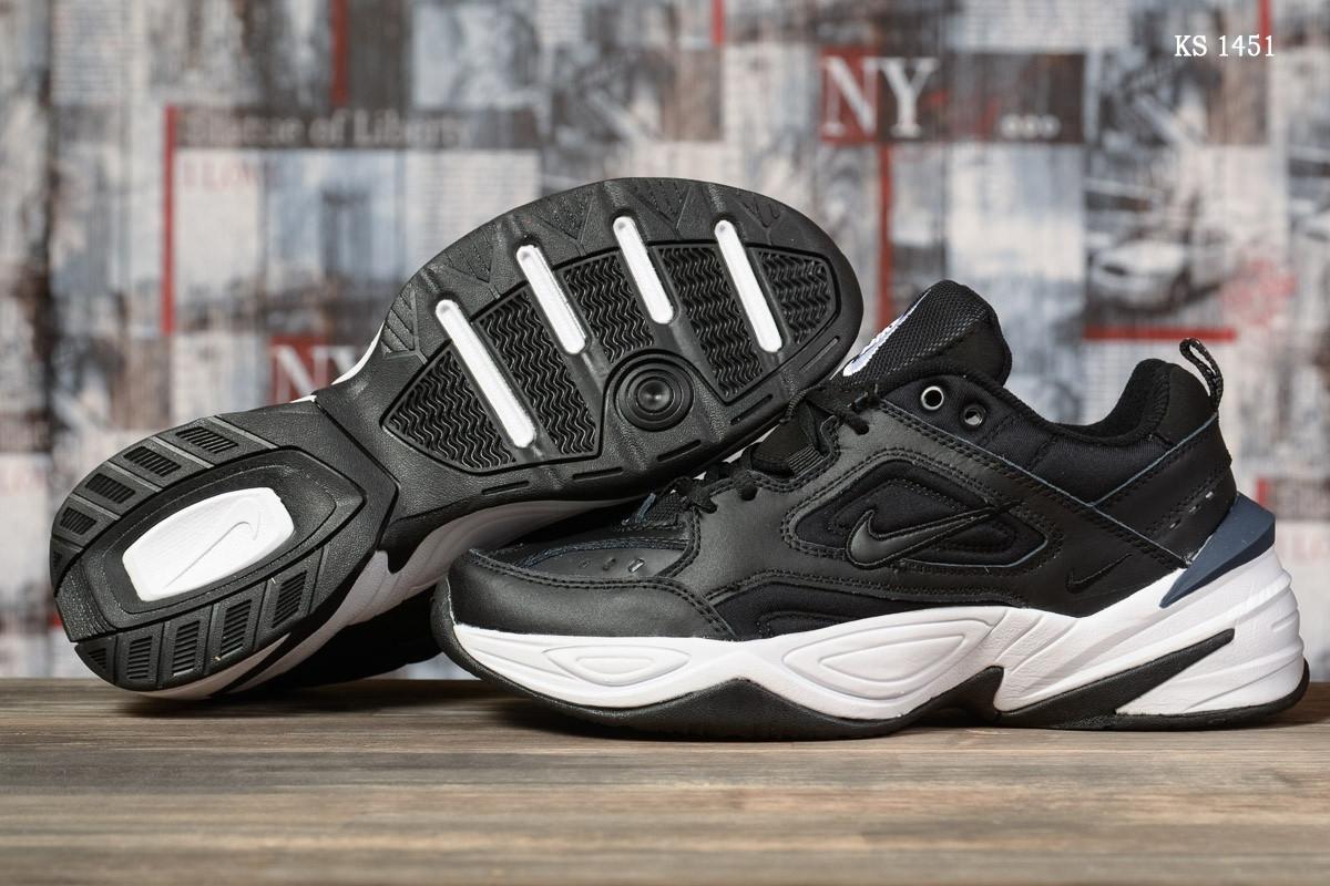 Мужские кроссовки Nike M2K Tekno (черно-белые) KS 1451