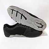 46,47 р. Летние кроссовки в стиле Nike (больших размеров) размеры Кожа / сетка черные, фото 6