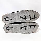 46,47 р. Летние кроссовки в стиле Nike (больших размеров) размеры Кожа / сетка черные, фото 7