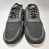 46,47 р. Летние кроссовки в стиле Nike (больших размеров) размеры Кожа / сетка черные, фото 3