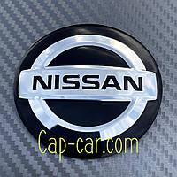 Наклейки для дисков с эмблемой Nissan. ( Ниссан ) Цена указана за комплект из 4-х штук