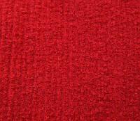 Выставочный ковролин 105 (ярко-красный)