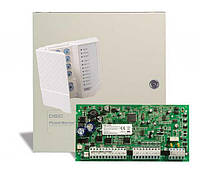 DSC PowerSeries PC1616EH. Комплект из главной платы с возвожностью расширения до 16 зон, клавиатуры PC1555RKZ и бокса