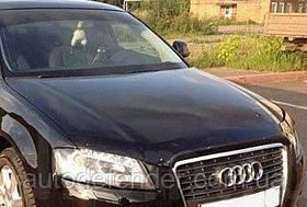 Дефлектор капота (Люкс!) мухобойка Audi A3 S3, 2003-2008, SIM, SAUDA30512