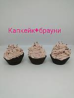 Свеча кекс купить Киев оригинальный подарок, декор кухни