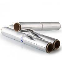 Фольга для запекания пищевая, рулон 440 мм, толщина 9 мкм, намотка 50 метров