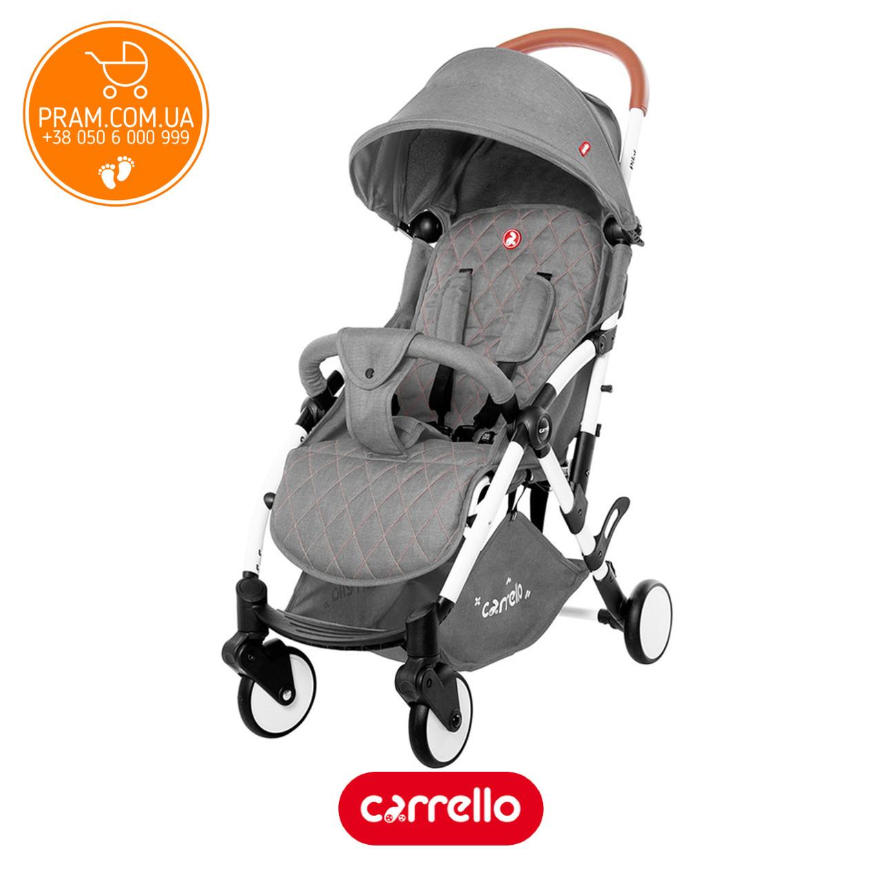 Carrello Pilot CRL-1418/1 2019 прогулянкова коляска Shadow Grey Сірий