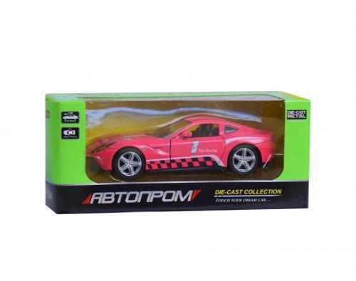 """Машинка инерционная """"Chevrolet Corvette Stingray"""" из серии """"Автопром"""" (розовая) 7741"""