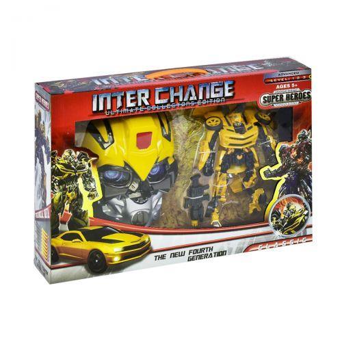 Пистолет с маской (желтый) 4091