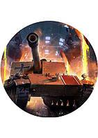Вафельные картинки World Of Tanks 4