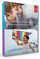Мультимедийный комплект ПО Adobe Photoshop & Premiere Elements 2020 (бессрочная лицензия)