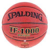 М'яч баскетбольний Spalding №5 PU TF-1000 Baudu NBA