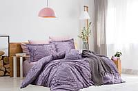 Комплект постельного белья двуспальный Бязь Голд Trendy 200х220 (56476-01_2.0LH) Сиреневый
