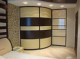 Радиусные шкафы-купе, фото 8