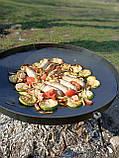 Сковорода из диска бороны для пикника жарки  мангал 30 см. Д-004, фото 7