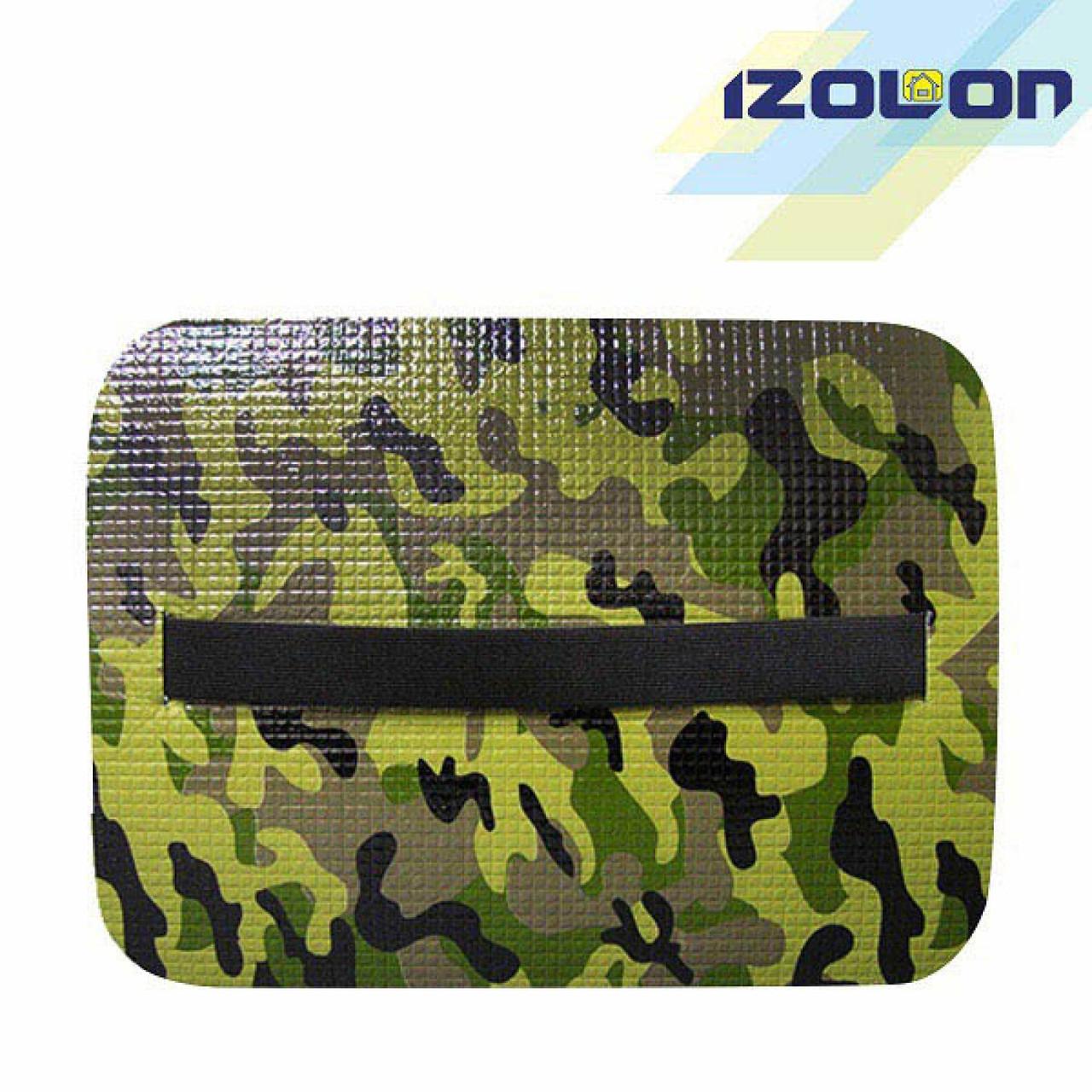 """Килимок - сидіння туристичне IZOLON """"""""Decor Камуфляж  8"""" (360 х 275 x 8 мм.)"""