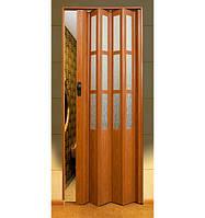 """Двері гармошка під скло """"Vinci Decor Simfonia"""" 860мм Фруктове дерево"""