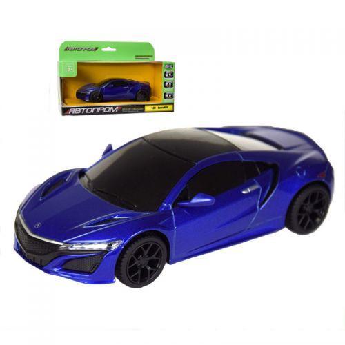 """Машинка """"Honda Acura"""" из серии """"Автопром"""" (синяя) 7606"""