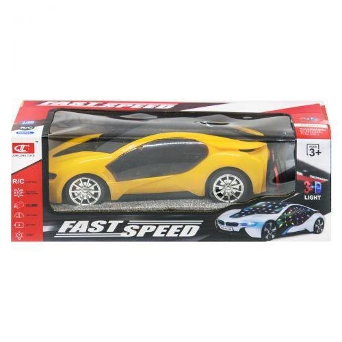 """Машинка на радиоуправлении """"Fast Speed"""" (желтый) 236-2"""