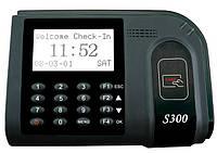 Учет рабочего времени по бесконтактным картам S300