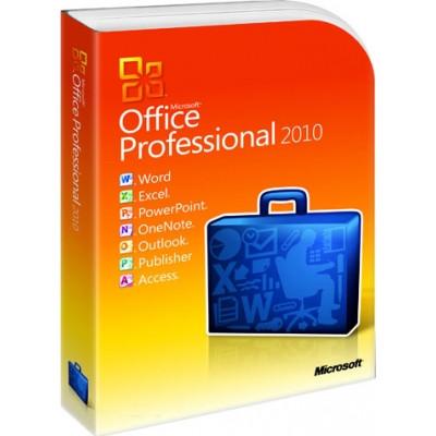Microsoft Office 2010 Pro 32-bit/x64 Russian DVD BOX (269-14689)